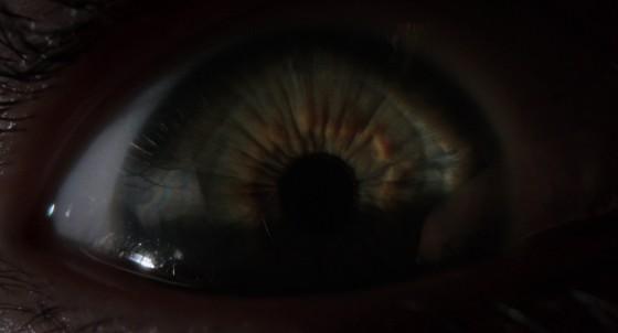 Under the Skin Jonathan Glazer Recensione Lo Specchio Scuro Scarlett Johansson occhio
