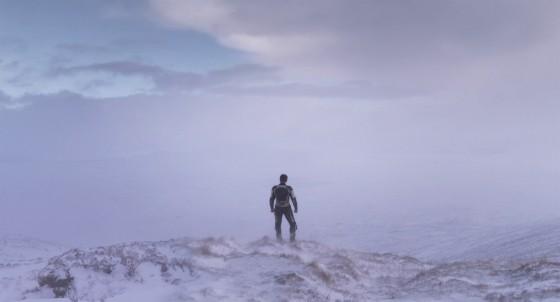 Under the Skin Jonathan Glazer Recensione Lo Specchio Scuro Viandante sul mare di nebbia Caspar David Friedrich