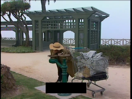 Homeless Dennis Hopper Lo Specchio Scuro cortometraggio