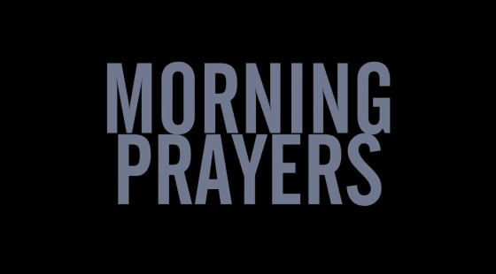 morning prayers - 4