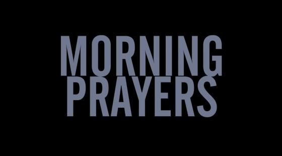 morning prayers - 4