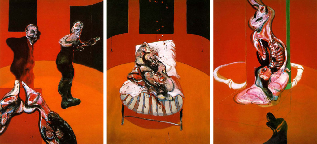 francis bacon philippe grandrieux white epilepsy Three Studies for a Crucifixion baconrecensione lo specchio scuro