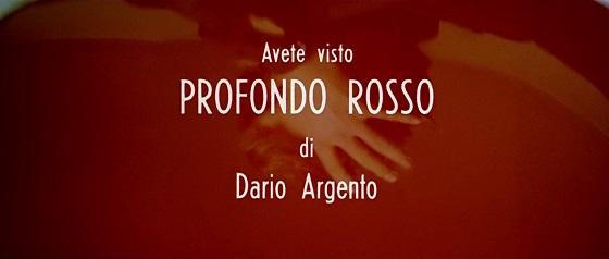 Profondo rosso Carne Dario Argento Gaspar Noé Lo Specchio Scuro