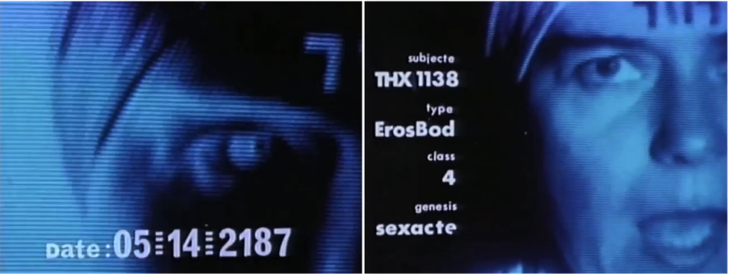 thx 1138 4eb labirinto elettronico george lucas lo specchio scuro analisi recensione
