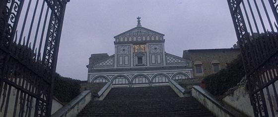 obsession complesso di colpa brian de palma firenze basilica di san miniato al monte recensione lo specchio scuro