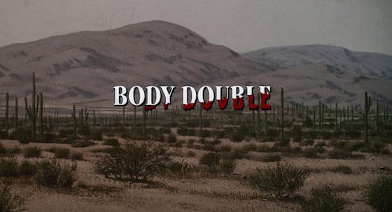 omicidio a luci rosse body double brian de palma lo specchio scuro analisi recensione