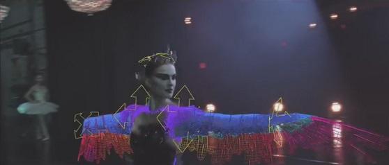 cigno nero black swan effetti speciali visual effects lo specchio scuro