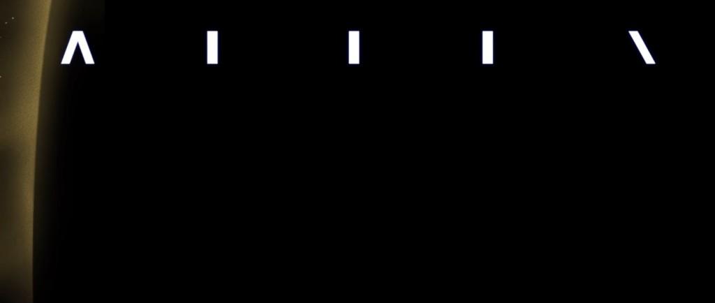 alien opening credits titoli di testa