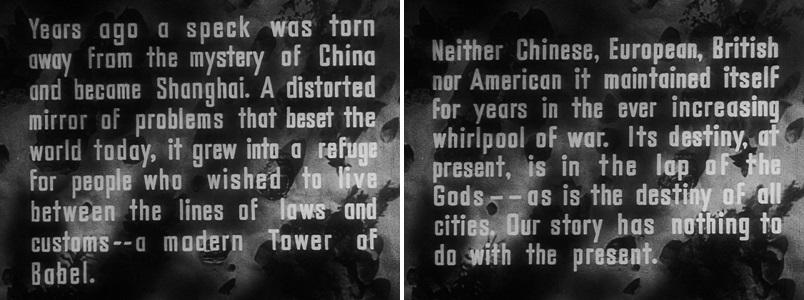 i misteri di shanghai sternberg