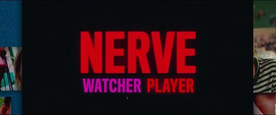 nerve estetica neon specchio scuro