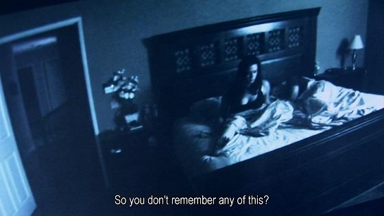 paranormal activity recensione lo specchio scuro