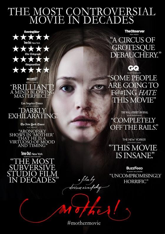 mother aronofsky recensione poster lo specchio scuro
