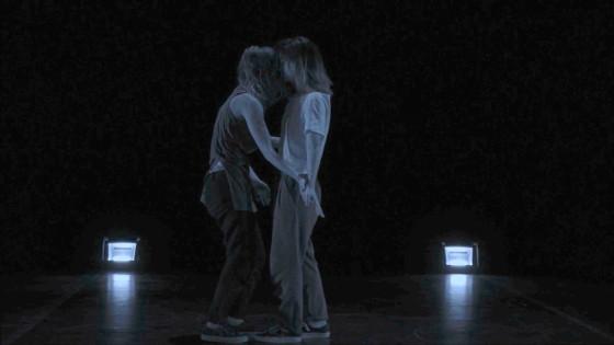7 - Nathalie Remadi and Lucia Montes in La Retenue (2017)
