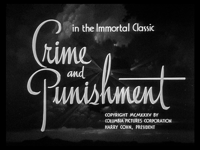 ho ucciso recensione josef von sternberg crime and punishment