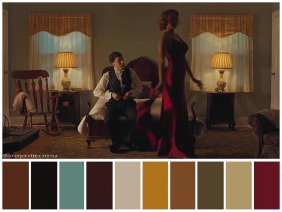 fig. 1 - Café Society - Allen, Storaro - Color Palette