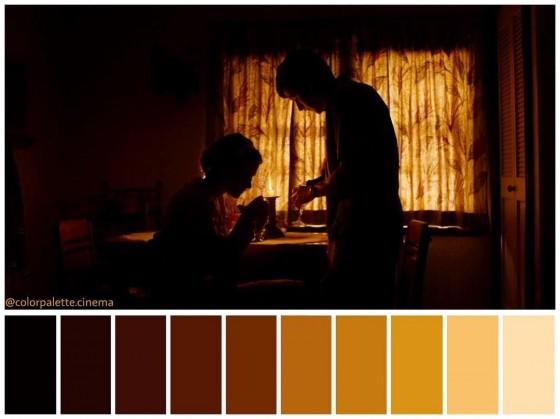 fig. 2 - Café Society - Allen, Storaro - Color Palette