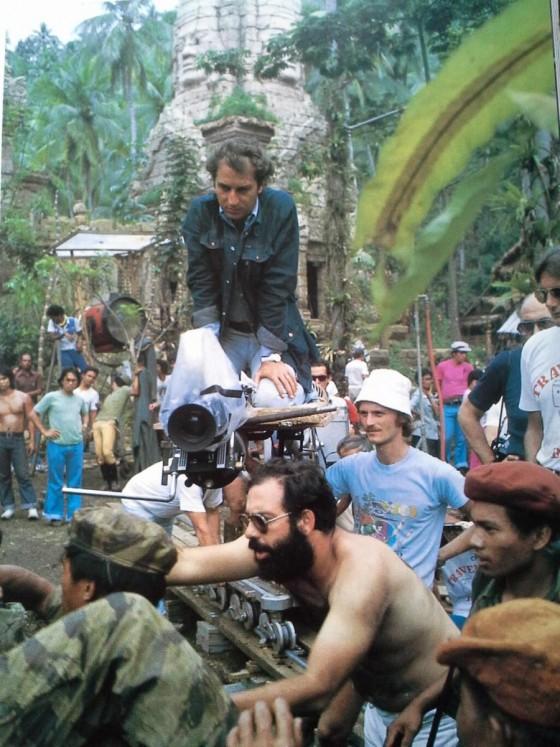 fig. 3 - Storaro sul set di Apocalypse Now - 1979 - girato in Kodak EASTMAN Color Negative Film 5247