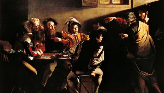 fig. 4 - La pittura di Caravaggio e il suo chiaroscuro 'invocato' da Vittorio Storaro